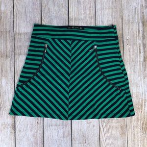 Zara Skirts - Zara Trafaluc | Skirt | Green and Navy Blue | S